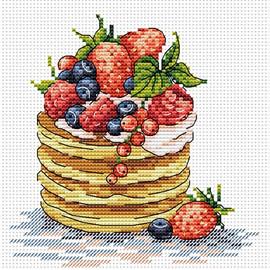 Breakfast Time Cross Stitch Kit by MP Studia