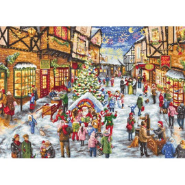 Christmas Eve Cross Stitch Kit by Luca S
