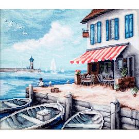 Sea Port Cross Stitch Kit by Luca S