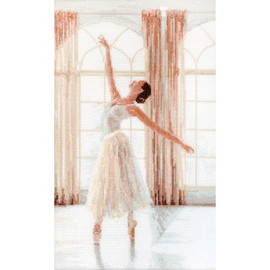 Ballerina Cross Stitch Kit by Luca S
