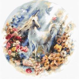 Unicorn Cross Stitch Kit by Luca S