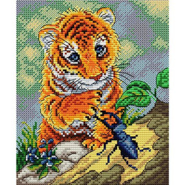 Lets be friends Cross Stitch Kit by MP Studia
