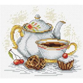 Morning Tea Cross Stitch Kit by MP Studia