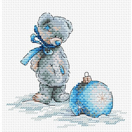 New year Ball Cross Stitch Kit by MP Studia
