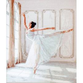 Ballerina 2 Cross stitch Kit by Luca s
