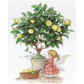 Lemon Fairy Cross Stitch Kit by MP Studia