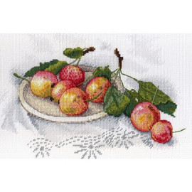 Taste of Apples cross Stitch Kit by MP Studia