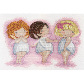 Beauties Cross Stitch Kit by MP Studia
