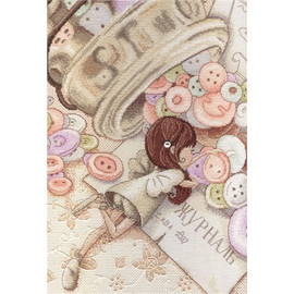Little Fairy Cross Stitch Kit by MP Studia