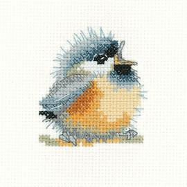 Chirpy Cross Stitch Kit By Heritage Crafts