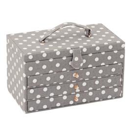 Grey Spot 3 draw Rectangle box Hobby Gift