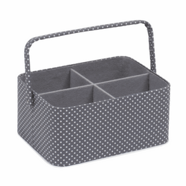 Grey Spot Craft Caddy Hobby Gift