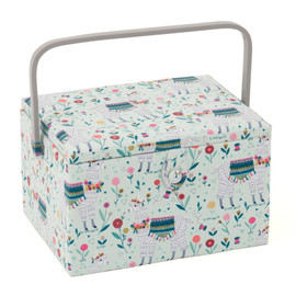Llama Large Sewing Box Hobby Gift