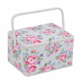 Roses Large Sewing Box Hobby Gift