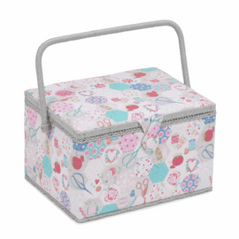 Notions Large Sewing Box Hobby Gift