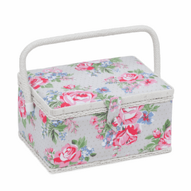 Roses Medium sewing Box Hobby Gift