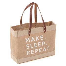 Make Sleep Repeat Craft Bag Hobby Gift