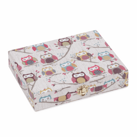 Hoot Hoot Thread Spool Storage Box Hobby Gift