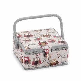 Hoot Hoot Small sewing Box Hobby Gift