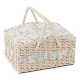 Homemade Sewing Basket Hobby Gift