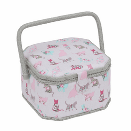 Cats Small sewing Box Hobby Gift