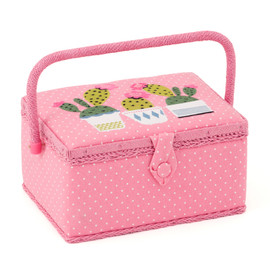 Cactas  Small sewing Box Hobby Gift