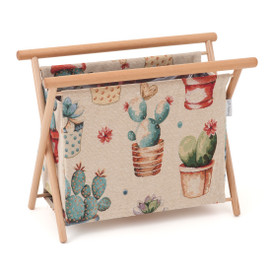 Cactus Party Knitting Bag Hobby Gift