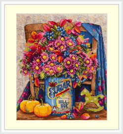Sugar Cross Stitch Kit By Merejka