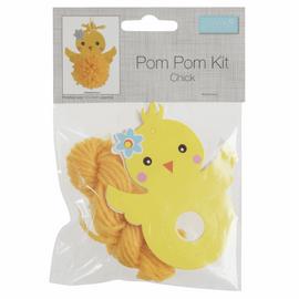 Pom Pom Decoration Kit: Chick