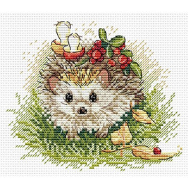 Hedgehog Cross Stitch Kit by MP Studia