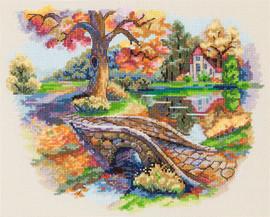 Autumn Landscape Cross Stitch Kit By Merejka