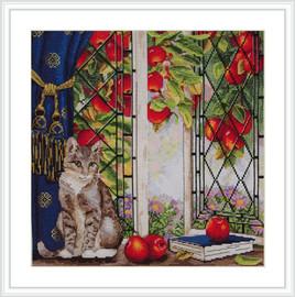 Early Autumn Cross Stitch Kit By Merejka