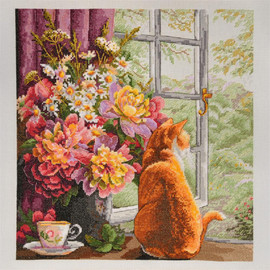 Summer Afternoon Cross Stitch Kit By  Merejka