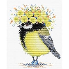 Sunny Birds Cross Stitch Kit by MP Studia