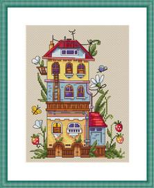 Summer House Cross Stitch Kit By  Merejka