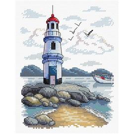 Lighthouse Cross Stitch Kit by MP Studia