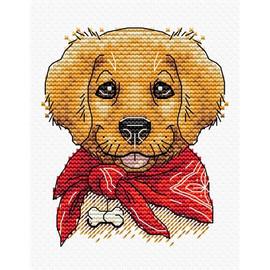 Best Friend  Dogs Cross Stitch Kit by Mp Studia