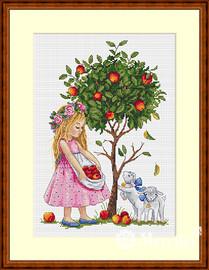 Apple Tree Cross Stitch Kit By Merejka