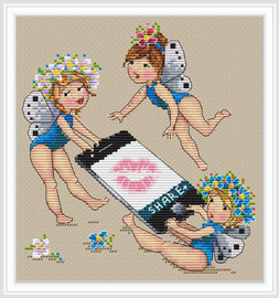 Share Cross Stitch Kit By Merejka