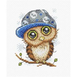Owl Cross Stitch Kit by Mp Studia