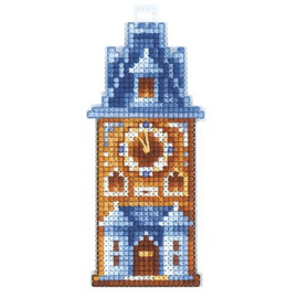 CLOCK TOWER cross stitch kit by Adriana