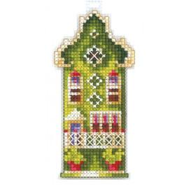OLIVE HOUSE cross stitch kit by Adriana