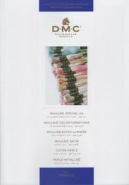 DMC Printed Thread Shade Card (Art. 115 116 117 317 417 1008F)