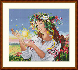 Dawn Cross Stitch Kit By Merejka