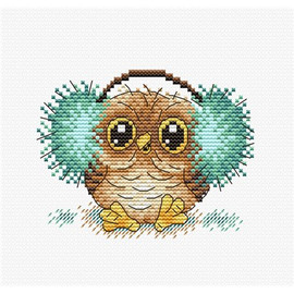 Fluffy Happiness Cross Stitch Kit by Mp Studia