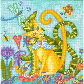 BELOVED MARQUISE cross stitch kit by Andriana
