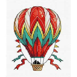 Air Balloon Cross Stitch Kit by MP studia