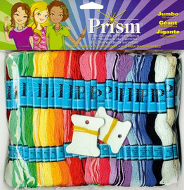 Prism Party Pack No.2 with 105 threads and free Bracelet design