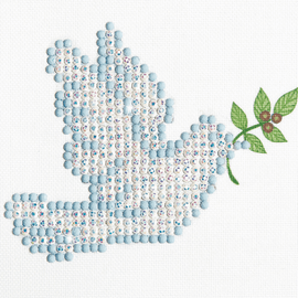 Diamond Painting Kit: Dove of Peace