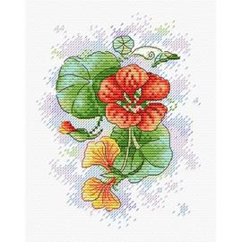Petals of Tenderness Cross Stitch Kit by MP Studia